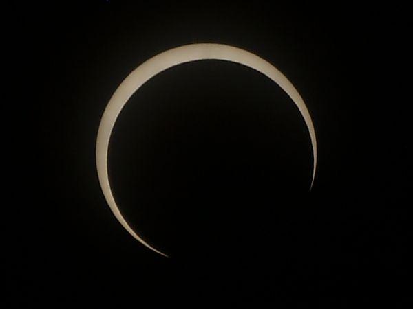 仙台の日食